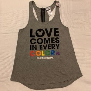 Love comes in every color tank